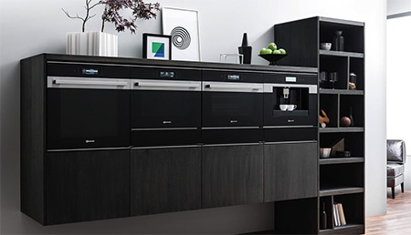 zum einbauen sch n vier neue designlinien f r die k che. Black Bedroom Furniture Sets. Home Design Ideas