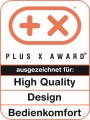 Plus X High Quality Design Bedienkomfort