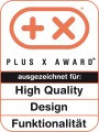 Plus X High Quality Design Funktionalität