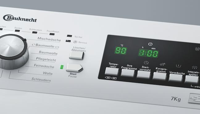 Toplader Waschmaschine 7kg : Leiser und sparsamer wäscht keiner zen toplader u presse bauknecht