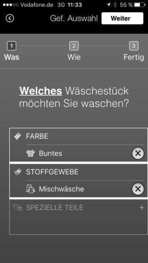 Geführte Auswahl: Die BLive App hilft bei der Suche nach dem richtigen Programm