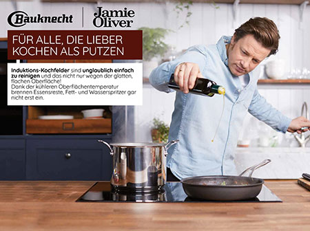 Bauknecht Jamie Oliver Aufsteller