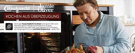 Bauknecht und Starkoch Jamie Oliver unterstützen den Fachhandel mit vielseitigem Material für den Point of Sale