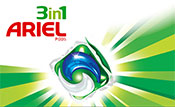 Fans erhalten 6 Monate gratis Ariel PODS beim Kauf eines Geräts aus dem Bereich Waschen